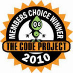 Code Project - Membership Choice Award - 2010